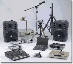 Equipment hire for special events